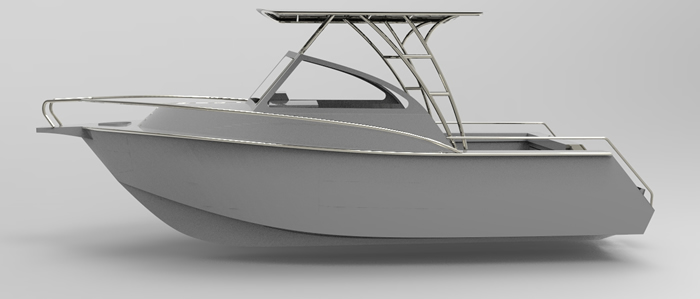 Cope 21ft Cuddy Runabout