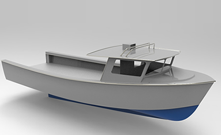 Cope 42ft Lobster Boat