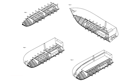 Construction Drawings 26ft OB Cruiser