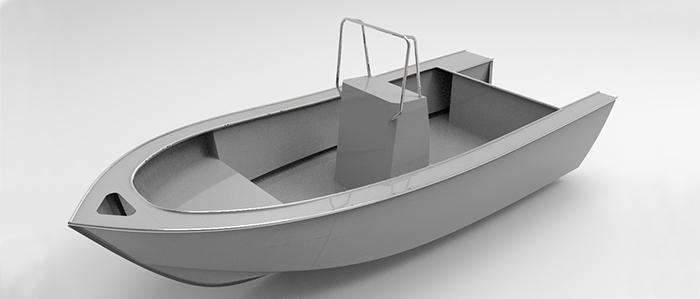 Cope 17ft Center Console 048 Cope Aluminum Boat Designs